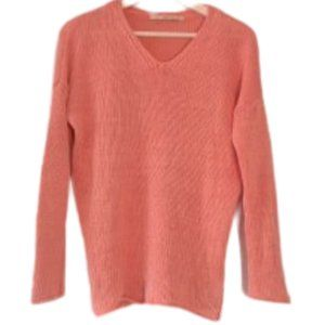 Part Two 100% linen knit sweater M